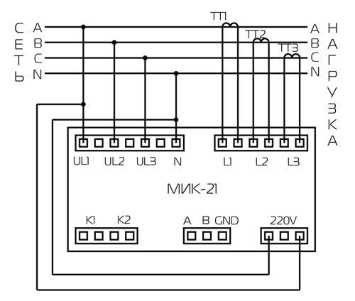Для передачи данных от МИК-21