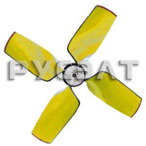 Рабочее колесо четырехлопастное для вентилятора ВГ-25