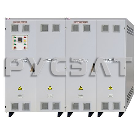Стабилизатор напряжения трехфазный СТЭМ-3-400/3-А-У3
