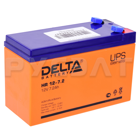 Аккумуляторная батарея Delta HR 12-7,2