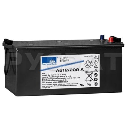 Аккумуляторные батареи Sonnenschein A512/200 A