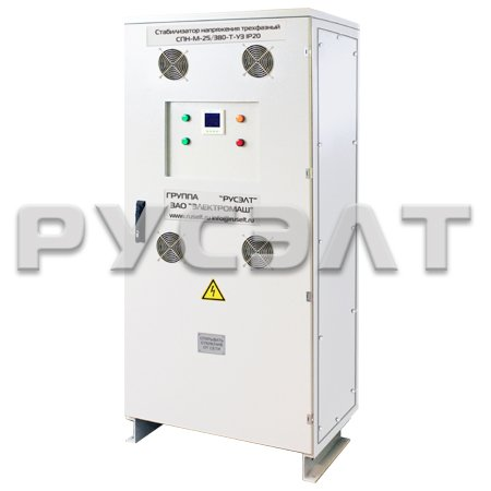 Стабилизатор напряжения трехфазный 160 кВА СПН-М-160/380-Т-У3