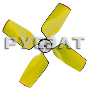 Рабочее колесо четырехлопастное для вентилятора ВГ-50