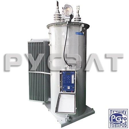 Однофазный высоковольтный дискретный трансформатор-стабилизатор напряжения ВДТ-СН-1-400-6(10)-У1