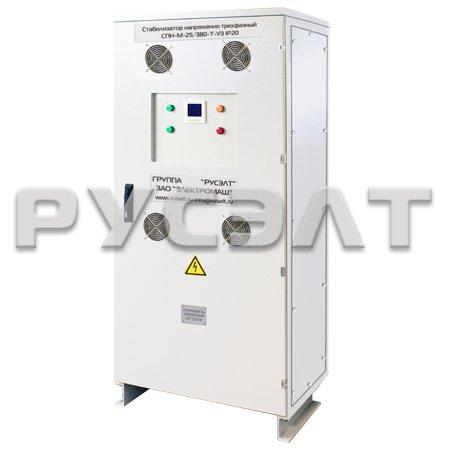 Стабилизатор напряжения трехфазный 63 кВА СПН-М-63/380-Т-У3 IP31
