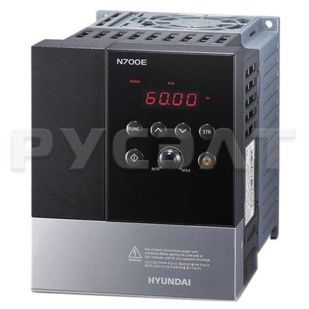 Преобразователь частоты HYUNDAI N700E-004HF