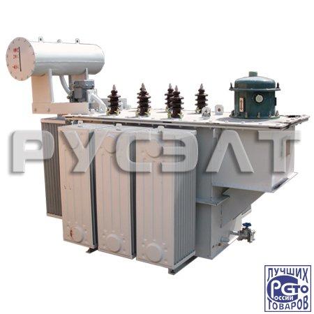 Трехфазный высоковольтный дискретный трансформатор-стабилизатор напряжения ВДТ-СН-3-3150-300-6-У1