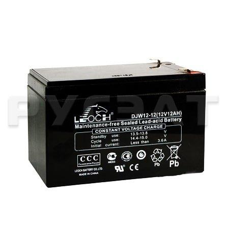 Аккумуляторная батарея Leoch DJW 1212