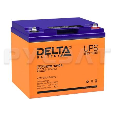Аккумуляторная батарея Delta DTM 1240 L